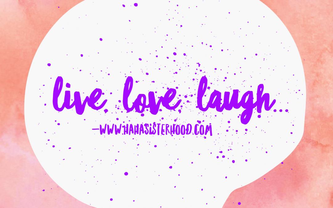 Laughter and tears…  Le rire et les larmes…