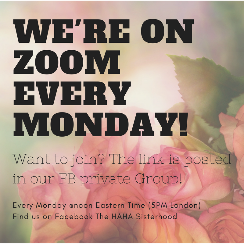 Join us on Zoom every Monday @ 1PM ET for a LIVE event with Linda Leclerc